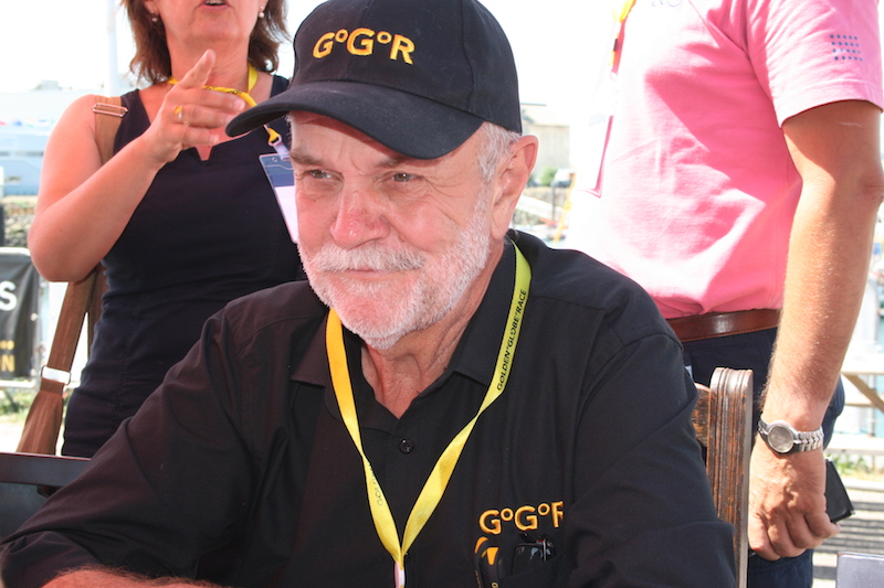 Don McIntyre, Chairman of the Golden Globe Race – photo Julio Graham
