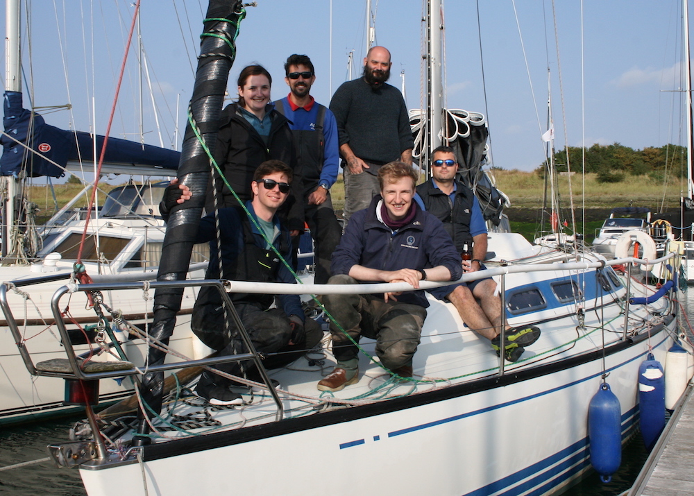 Winners of the Town Cup and the EAORA Houghton Cup – Robert Leggett and team on ApeX, an X332 – photo Sue Pelling