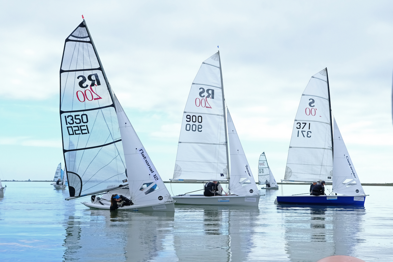 Ultra light winds for today's training session – photo Roger Mant