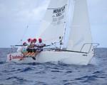 Cyril Lecrenay's team on Bunga Bunga sailed a good series to finish second overall