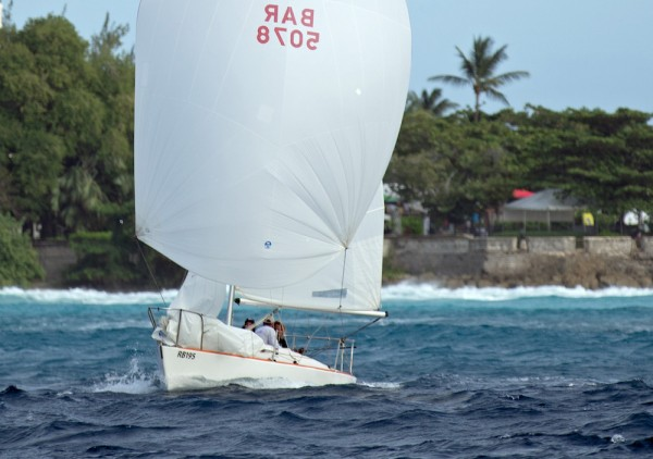 College Funds took the One-design J/24 record