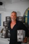 Popular winner Trevor Hunte wins stashes of rum for breaking the Windsurfer record once again