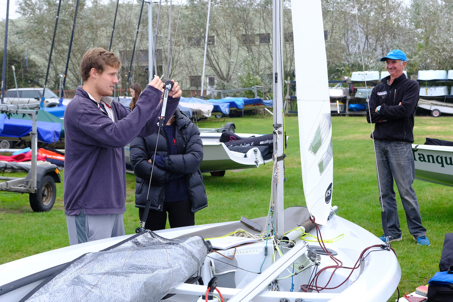 Tuning for light wind speed – photo Roger Mant