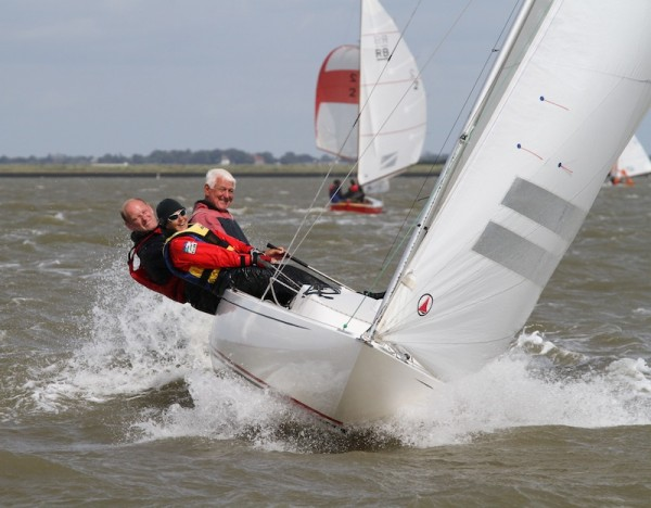 Dragon racing on the River Crouch – photo Roger Mant