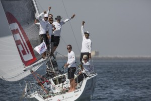 Sidney Gavignet and team win Leg 1