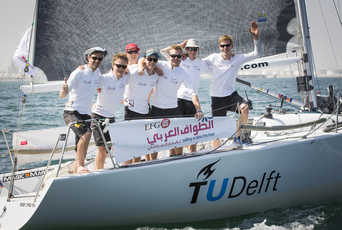 Team Delft Challenge win Leg 2.
